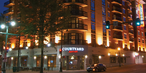 Courtyard Marriott Memphis Downtown