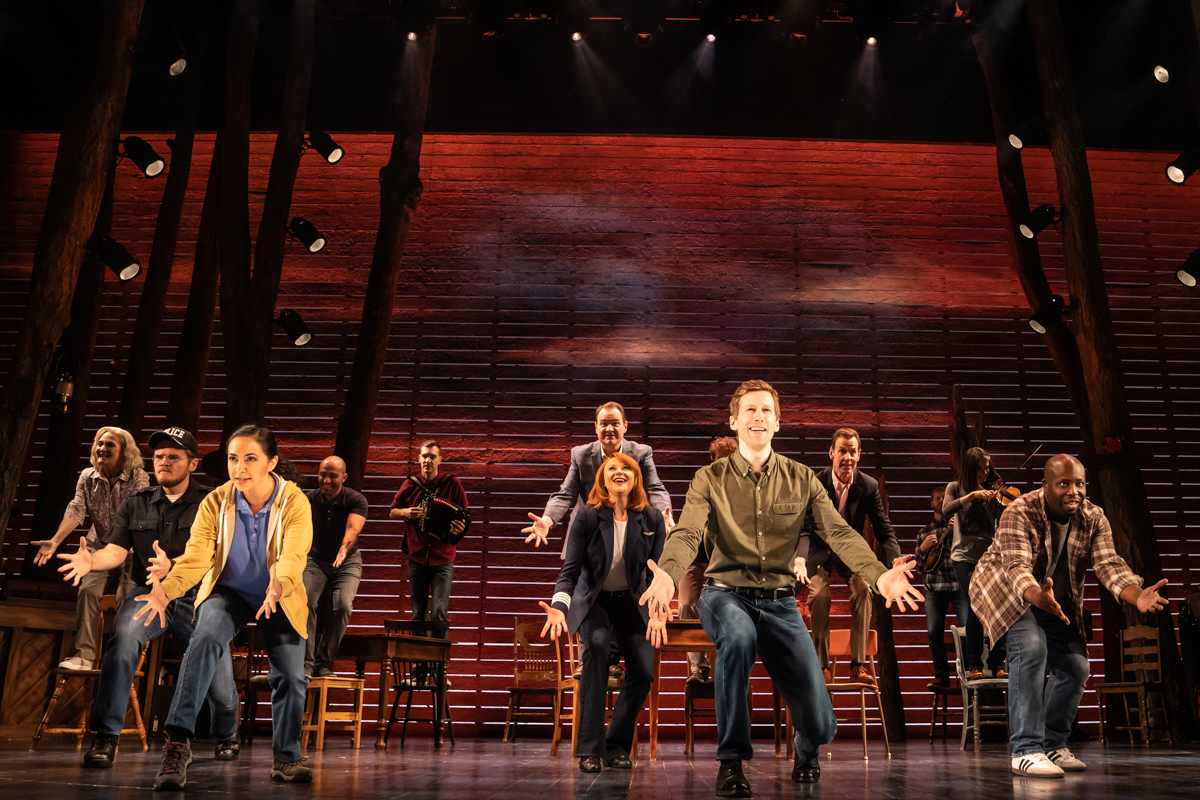 Come From Away cast dancing