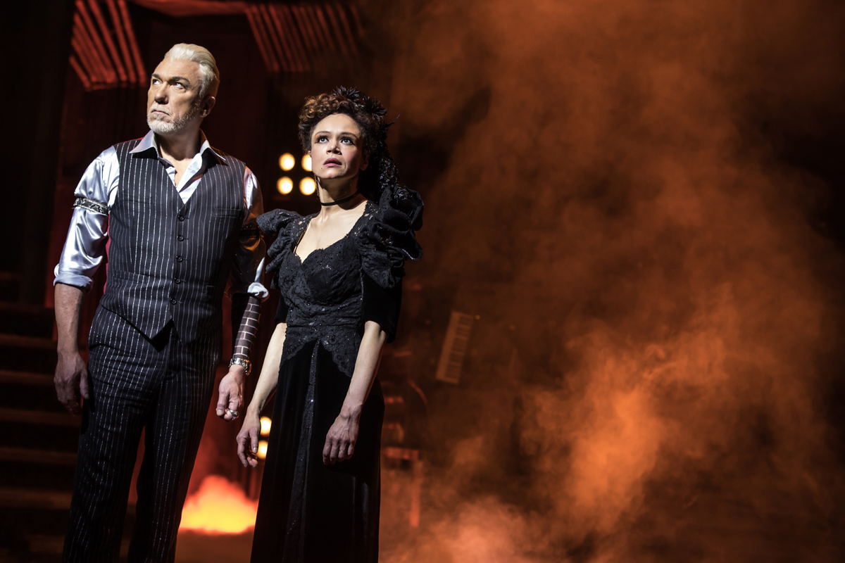 Hadestown, Hades and Persephone.